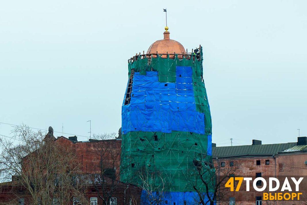 Часовая башня в Выборге. Фото: Илья Киряков